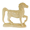 Horse Totem Carving in Fossil Mammoth Ivory | Whisperingtree.net