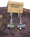 Labradorite Earrings by Kristin Ford