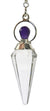 Vogel Point Pendulum with Amethyst