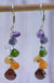 Handcrafted Gemstone Chakra Earrings