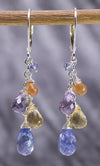 Pastel Cascade Handmade Gemstone Earrings