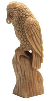 Great Horned Owl Guardian Totem Spirit Carving | Whisperingtree.net