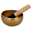 Hand Hammered Third Eye Chakra Singing Bowl 5 Inches