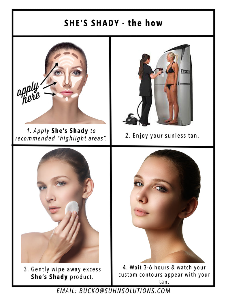 She's Shady - The First Contouring Barrier Stick