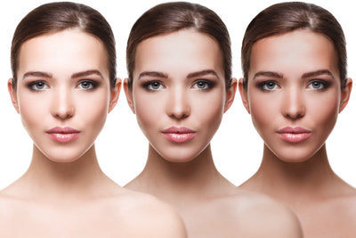 Sunless Contouring - Watch contours appear with your sunless tan using She's Shady