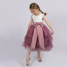 Polka dot & pink birthday tutu dress