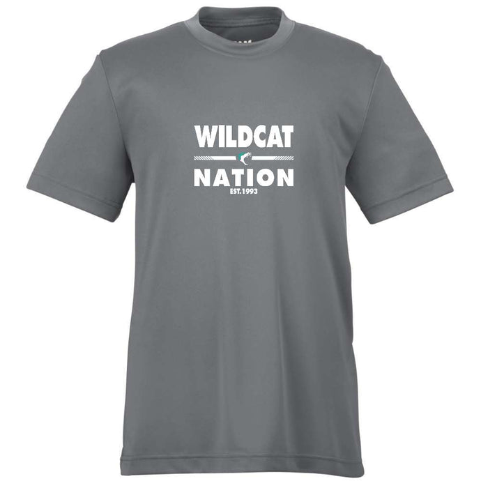 Vancouver Minor Softball Wildcats Dryfit Tee Short Sleeve -  Adult