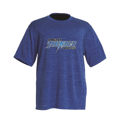 Langley Thunder Space Dye Tee - Adult