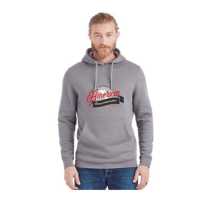 Softball Americas Road to Toyko Heavy Weight Hoodie - Americas Logo