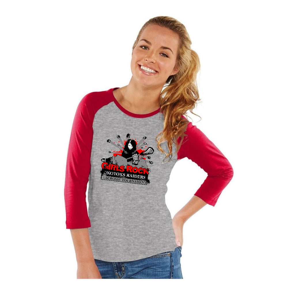 Girls Rock Baseball Tee - Ladies Only