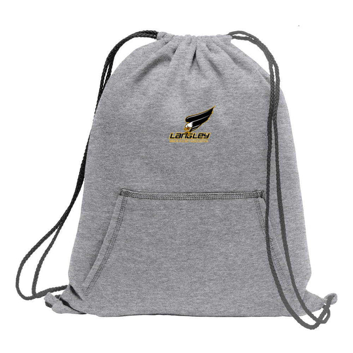LMHA Fleece Sweatshirt Cinch Bag