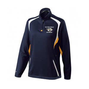 Predators 1/4 Zip Pull-Over - Ladies