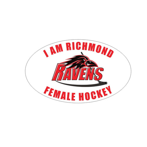 I Am Richmond Ravens Car Decal