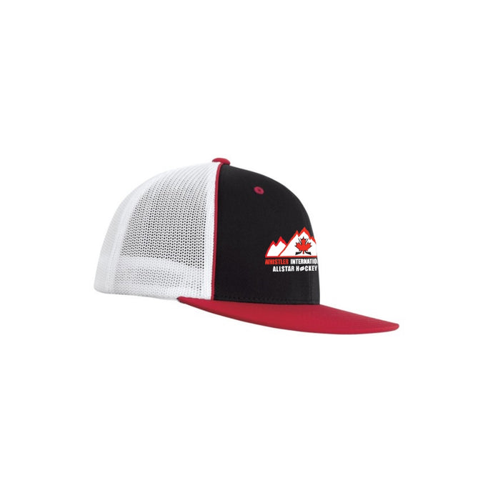 Whistler International Allstar Hockey FlexFit 2-Tone Fitted Hat