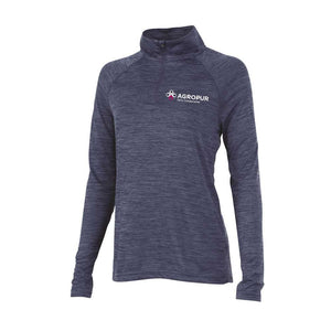 Agropur 1/4 Zip Pullover - Ladies