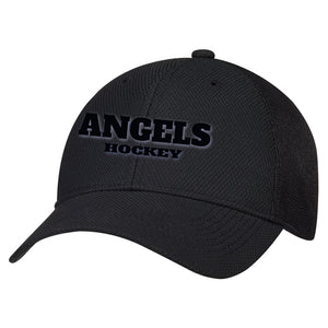 "Angels Diamond Mesh Hat with ""Puffy"" Logo"
