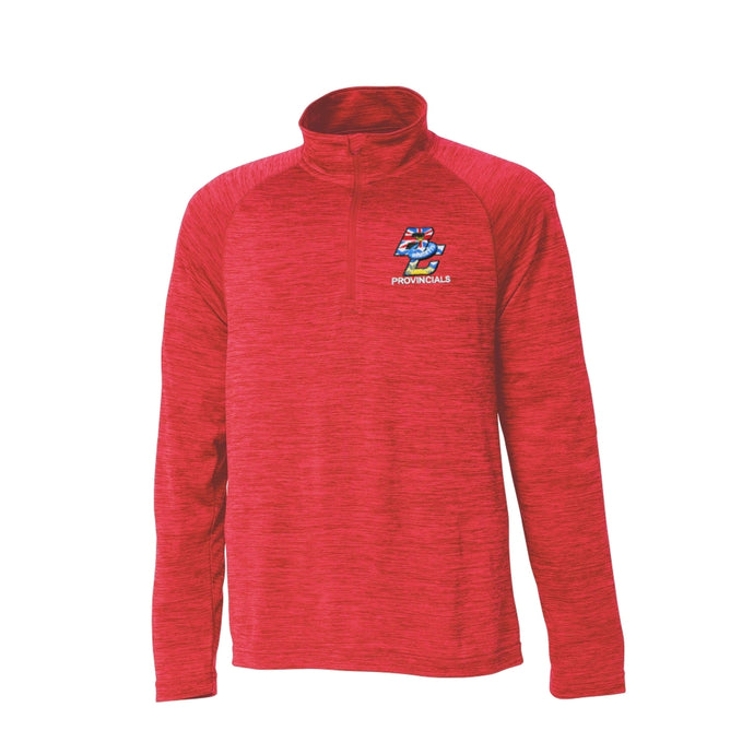 BC Ringette Provincials Performance 1/4 Zip - Mens