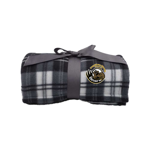 Bears Blanket - Plaid Fleece