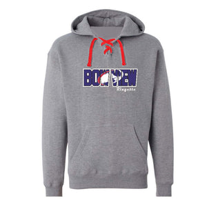 Bow View Laced Hoodie - Youth