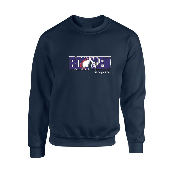 Bow View Crewneck Sweatshirt - Youth
