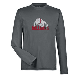 Bulldogs Dryfit Long Sleeve with Bulldogs Logo - Adult