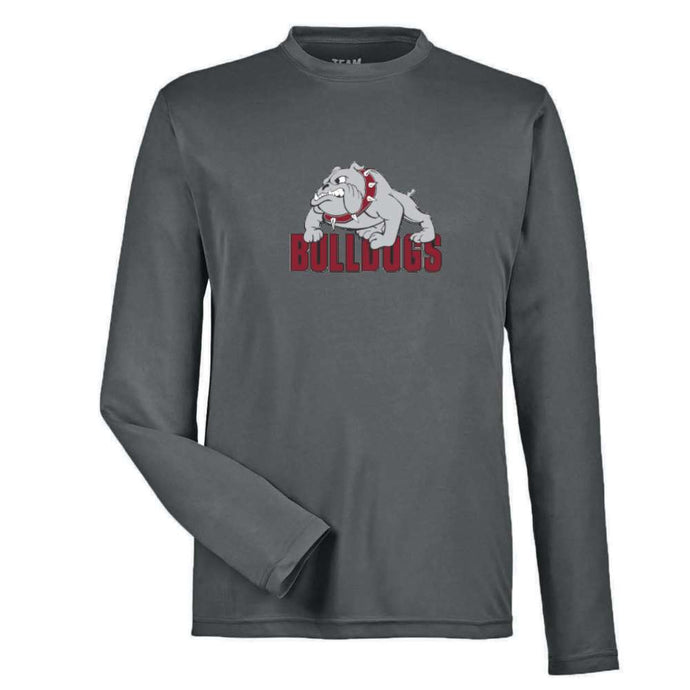 Bulldogs Dryfit Long Sleeve with Bulldogs Logo - Youth