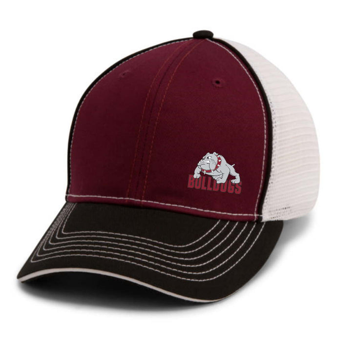 Bulldogs Piped Mesh Hat