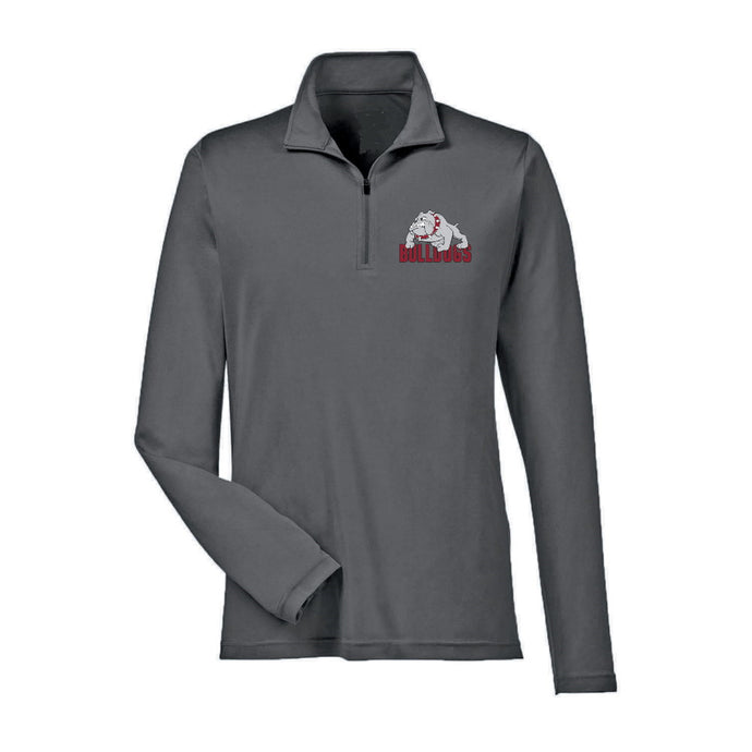 Bulldogs Zone Dryfit 1/4 Zip - Youth