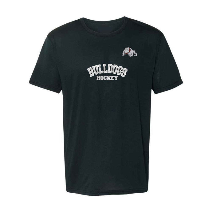 Bulldogs Hockey Short Sleeve Dryfit - Youth