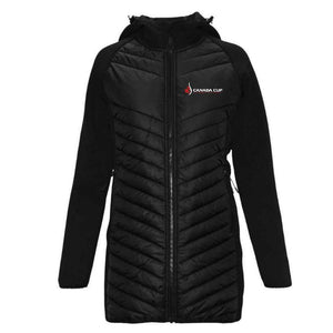 Canada Cup Softball Championship Quilted Luna Jacket - Ladies
