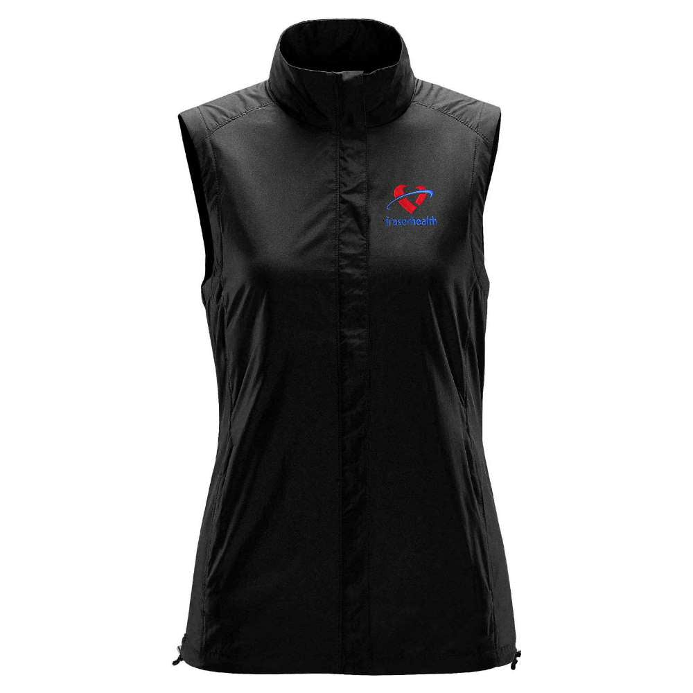 Fraser Health Stormtech VR2 Wind Vest - Ladies
