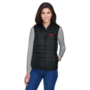 Fraser Health Puffy Vest - Ladies