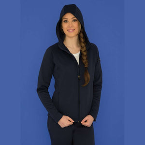Fraser Health Fleece Hooded Yoga Jacket - Ladies