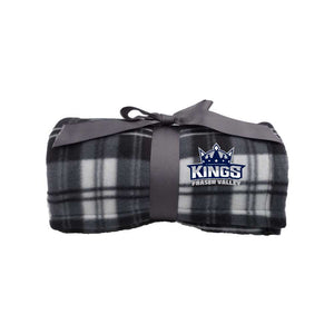 Fraser Valley Kings Plaid Fleece Blanket