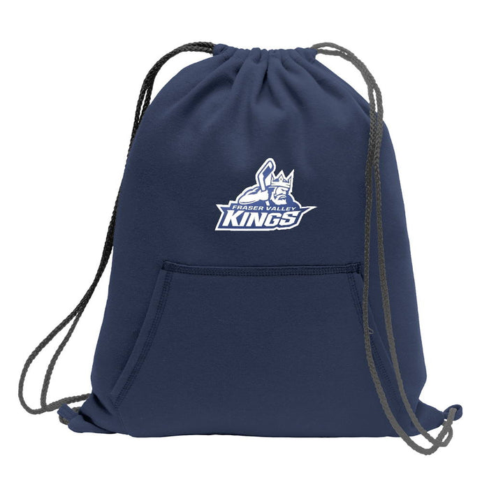 Fraser Valley Kings Fleece Sweatshirt Cinch Bag