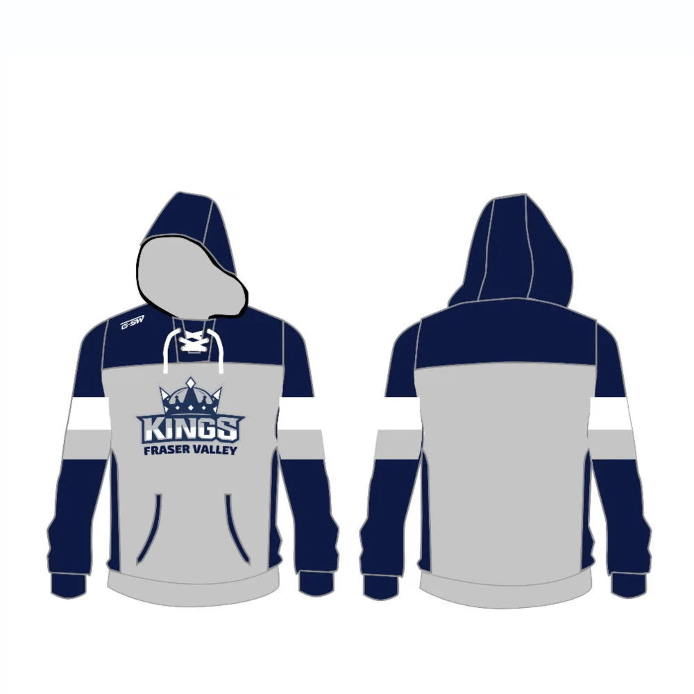 Fraser Valley Kings Custom Cotton Embroidered Hoodie - Youth