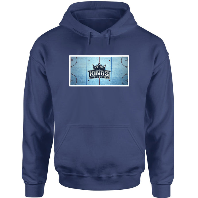Fraser Valley Kings Hoodie with Rink Logo - Adult