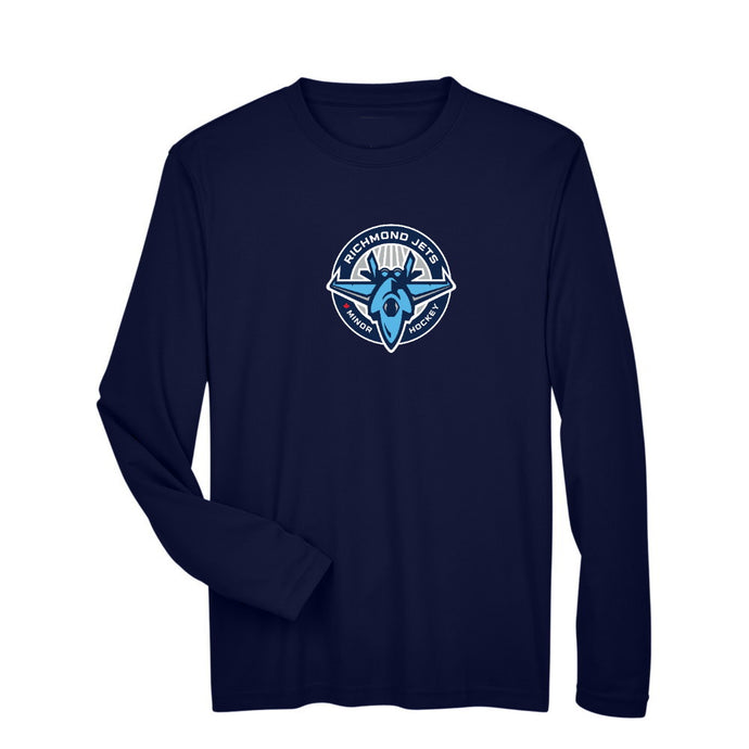 Jets Long Sleeve Dryfit - Adult