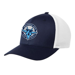 Richmond Jets FlexFit Fitted Mesh Hat - Centre Logo - Youth