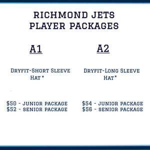 Richmond Jets Player Package - Junior
