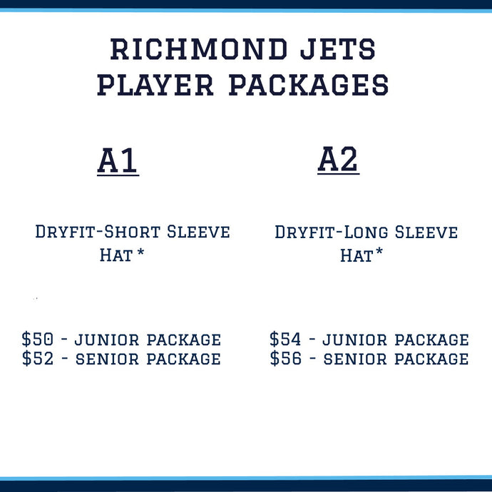 Richmond Jets Player Package - Senior