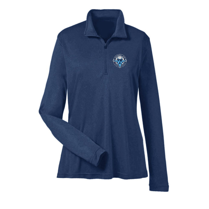 Jets Zone Dryfit 1/4 Zip - Ladies