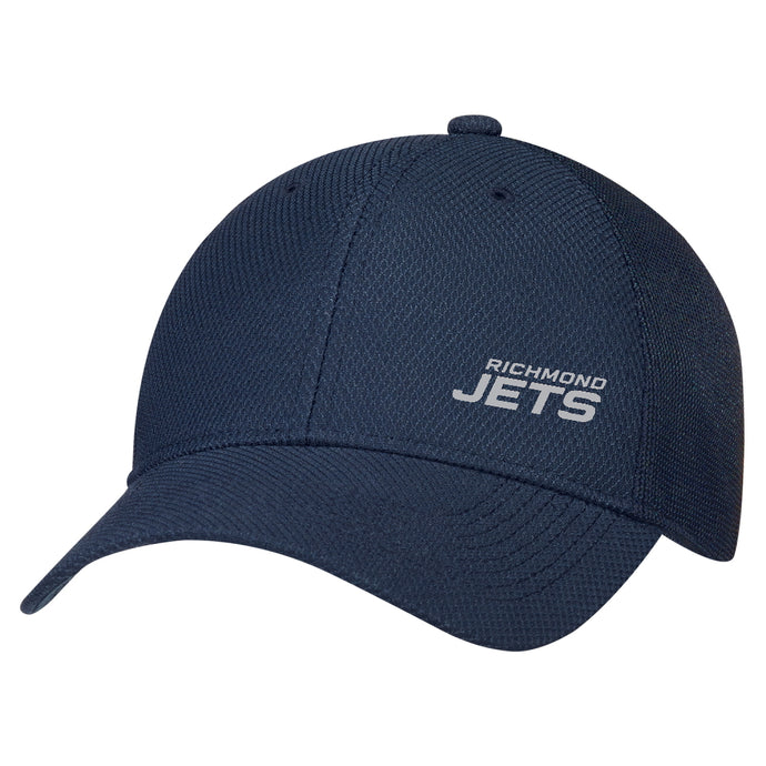 Jets Diamond Mesh Hat with Stacked Logo