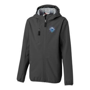 Jets Trail Softshell Hooded Jacket - Youth