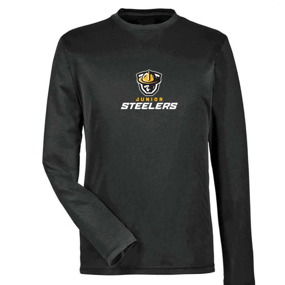 Jr Steelers Long Sleeve Dryfit - Adult