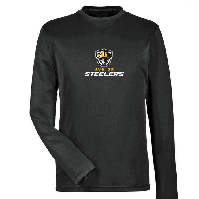 Jr Steelers Long Sleeve Dryfit - Youth