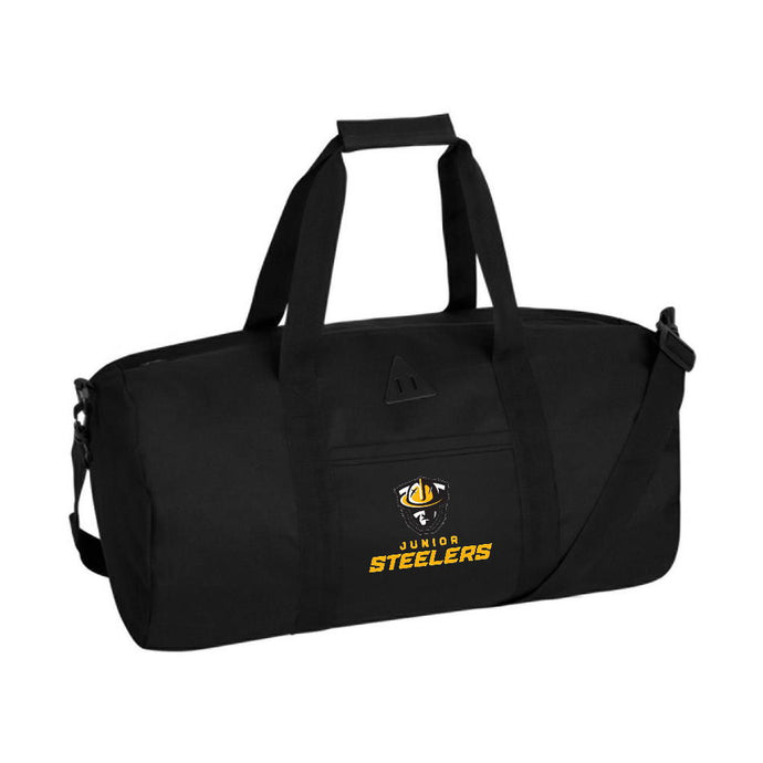 Jr Steelers Retro Barrel Duffel Bag