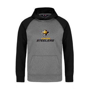 Jr Steelers 2-Tone Hoodie - Youth