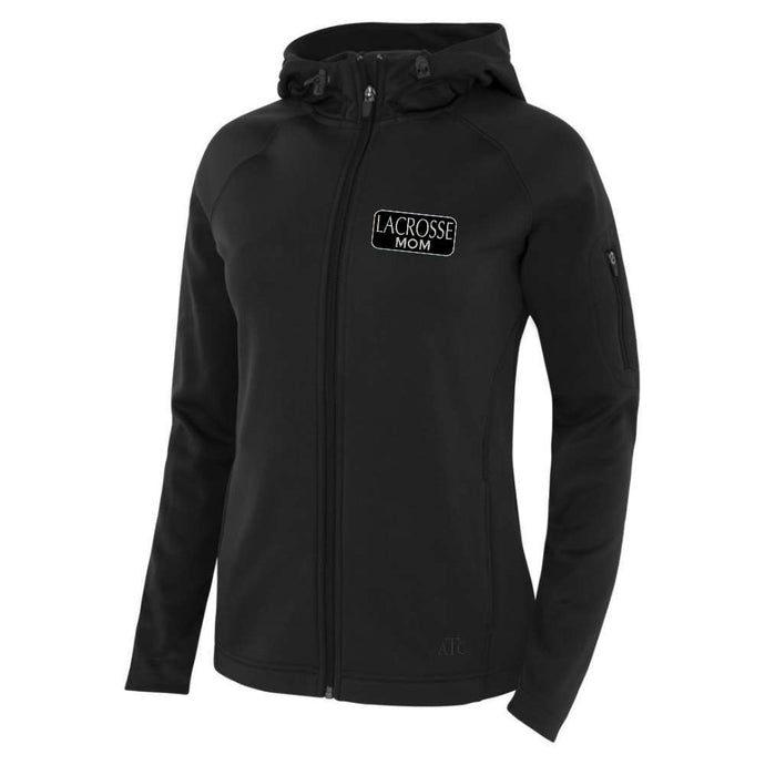 Richmond Lacrosse Fleece Hooded Yoga Jacket - Lacrosse Mom