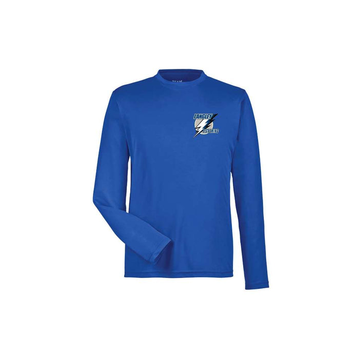 Langley Lightning Long Sleeve Dryfit Shirt - Youth